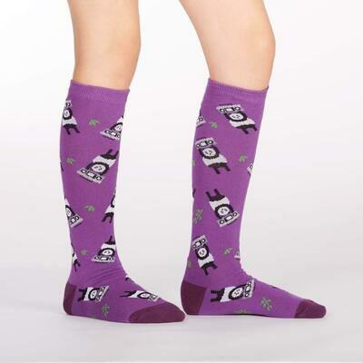 Panda Anything Kids Knee High Socks