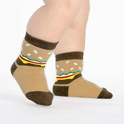 Slider Toddler Crew Socks