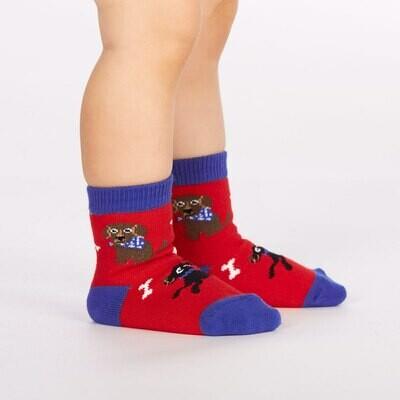 Kid's Best Friend Toddler Crew Socks