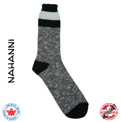 Nahanni Boot Sock - Black