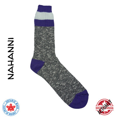 Nahanni Boot Sock - Purple