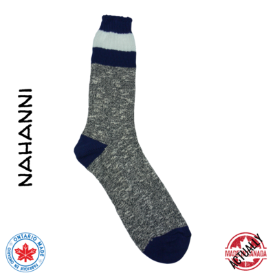 Nahanni Boot Sock - Navy