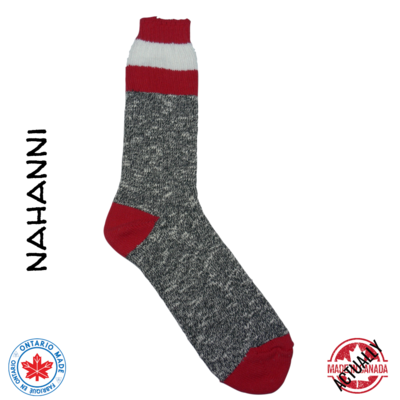 Nahanni Boot Sock - Red