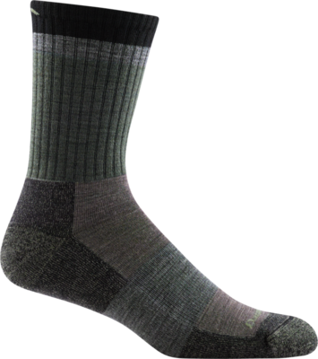 UNISEX HEADY STRIPE MICRO CREW LIGHTWEIGHT HIKING SOCK