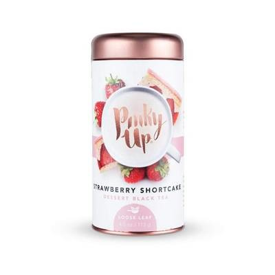 Pinky Up Strawberry Shortcake Loose Leaf Tea