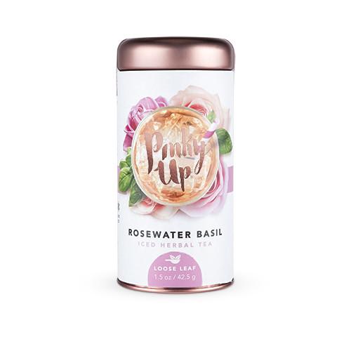 Pinky Up Rosewater Basil Loose Leaf Tea