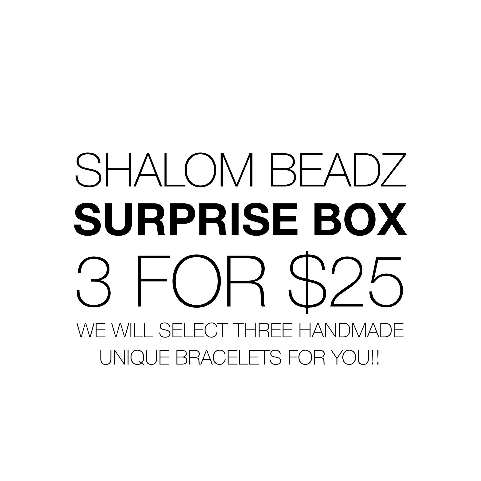 Shalom Beadz Surprise Box UPSB001-SURPRISEBOX