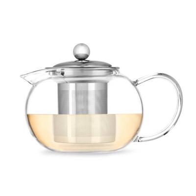 Pinky Up Glass Tea Pot