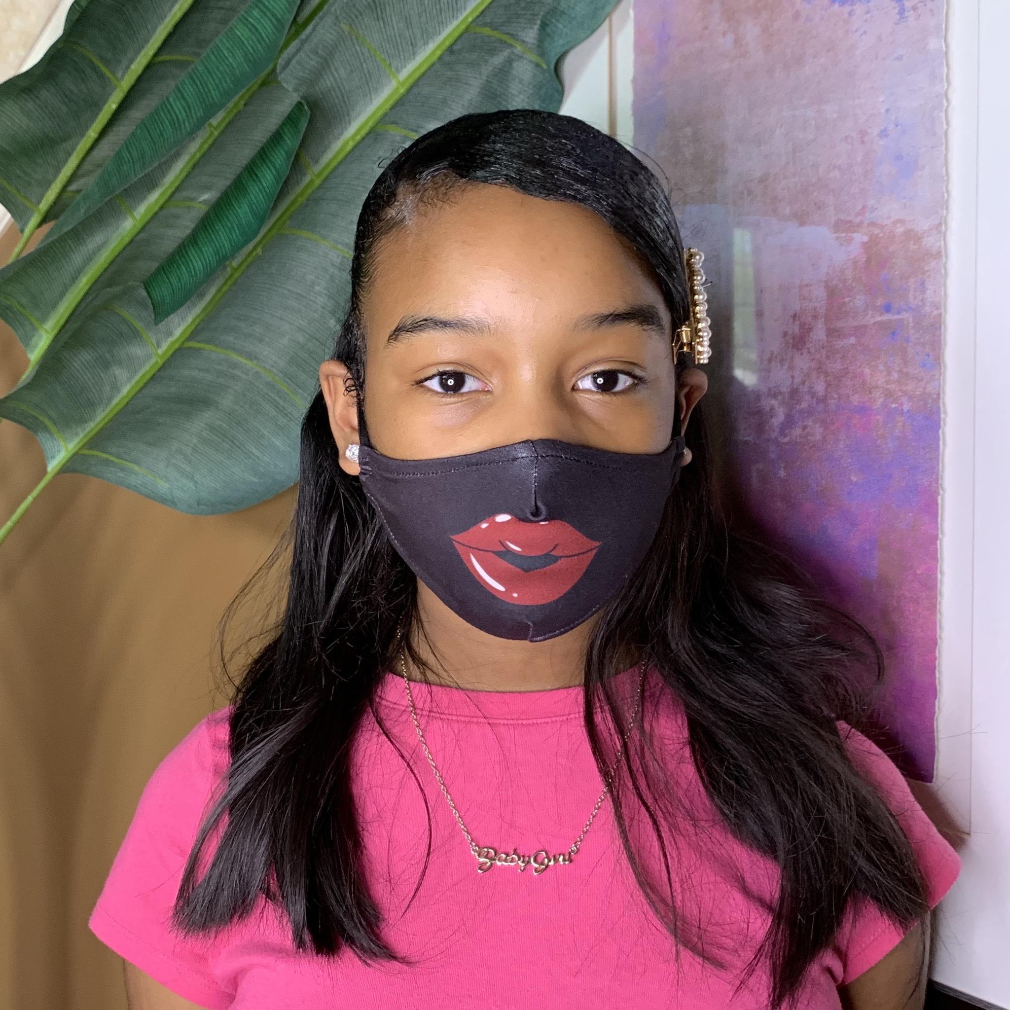 Children's Lippie Facial Mask UPAC20LIPPIE-CHILD