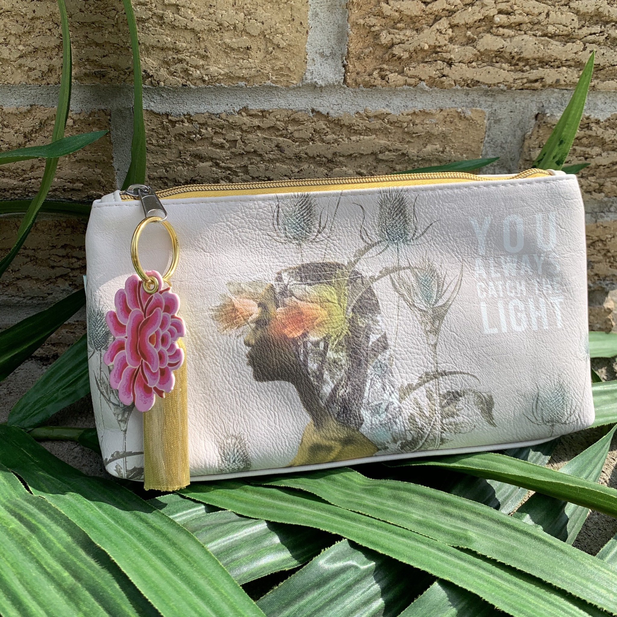 You're Light Small Tassel Pouch