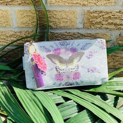 Butterflies Small Tassel Pouch
