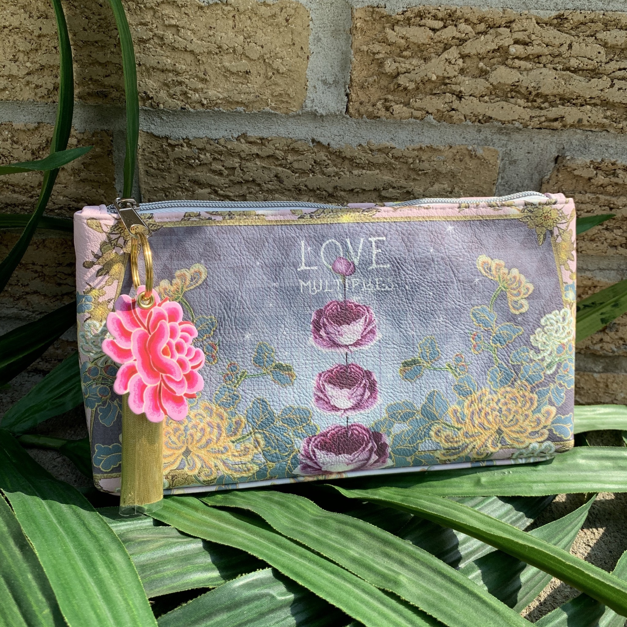 Love Multiplies Small Tassel Pouch