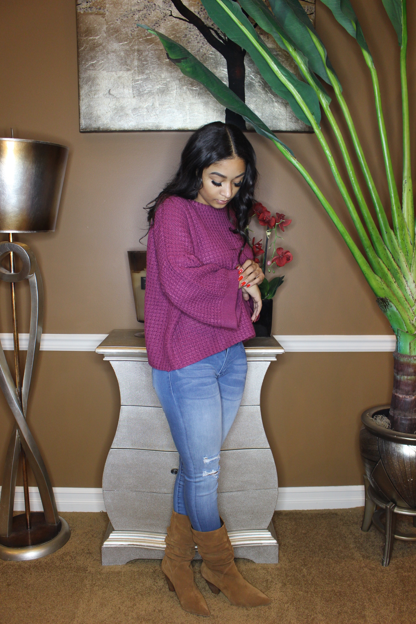 Berry Lush Sweater