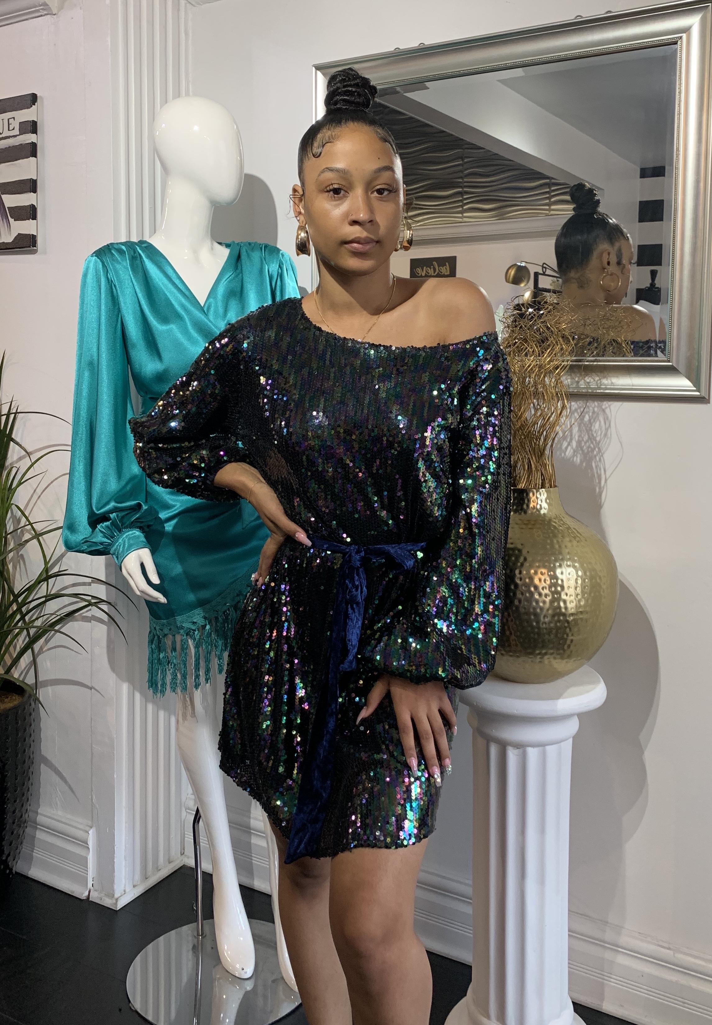 NYE Glitz Dress UPDR843-NYEGLITZ