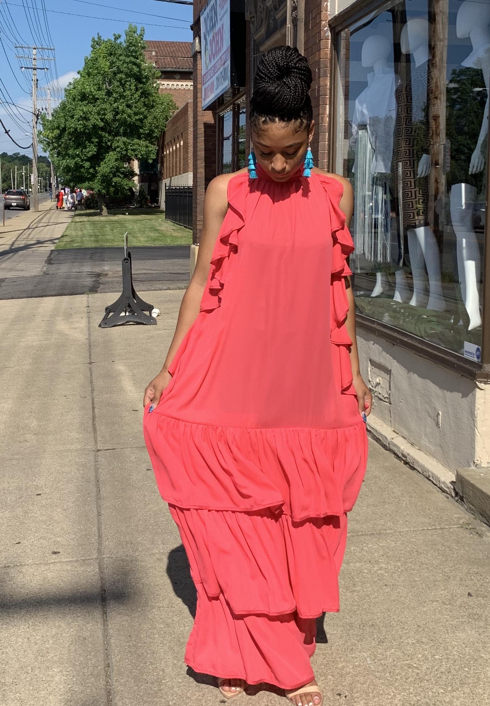Amber Breeze Sleeveless Dress