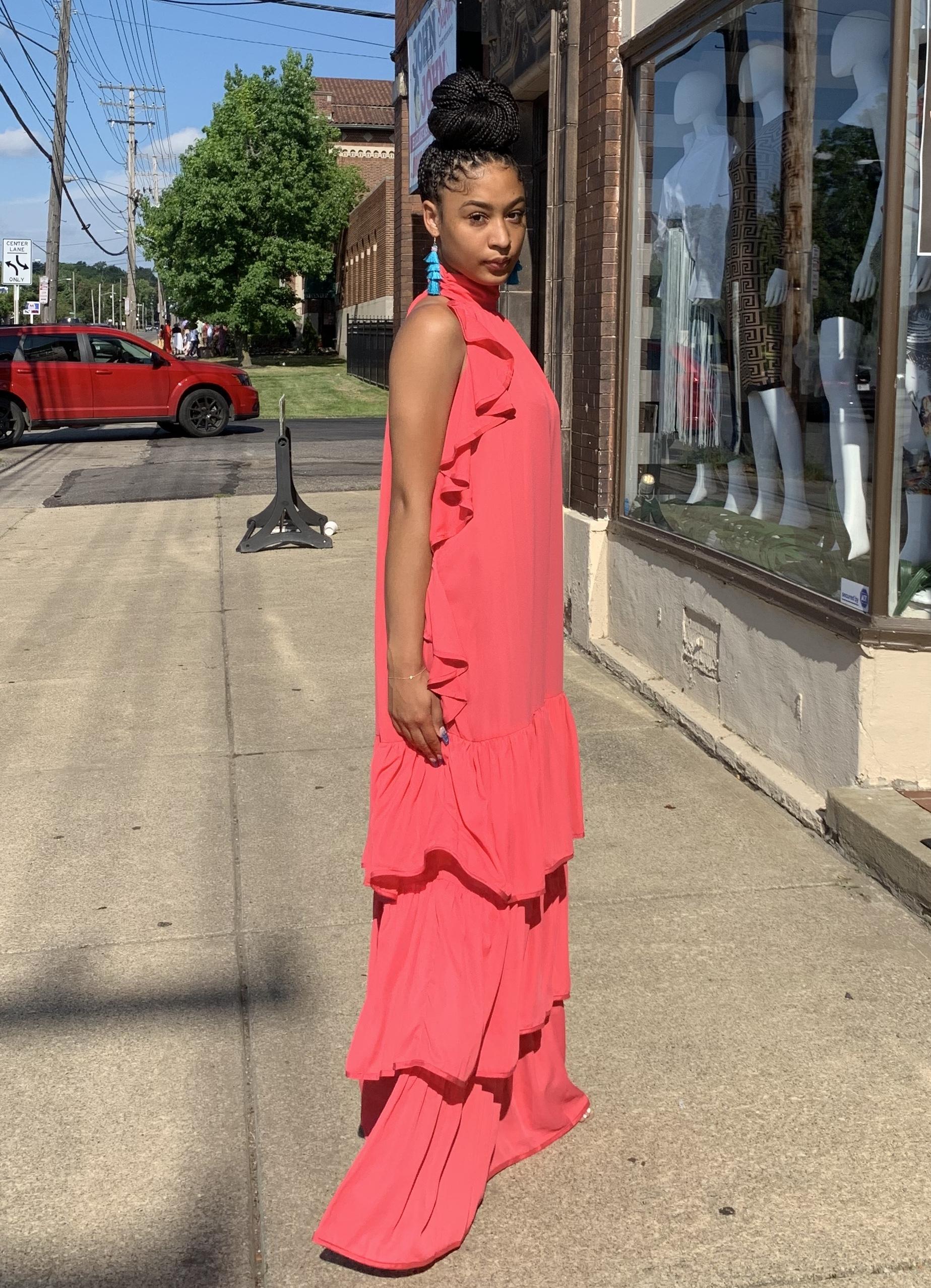 Amber Breeze Sleeveless Dress UPDR922-AMBERBREEZE