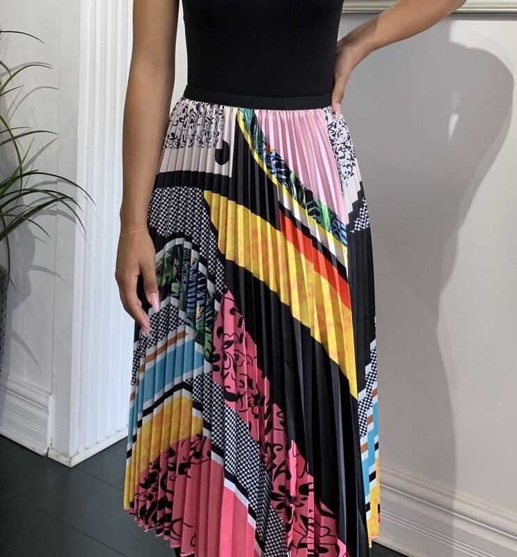 Pizzazz Pleated Skirt