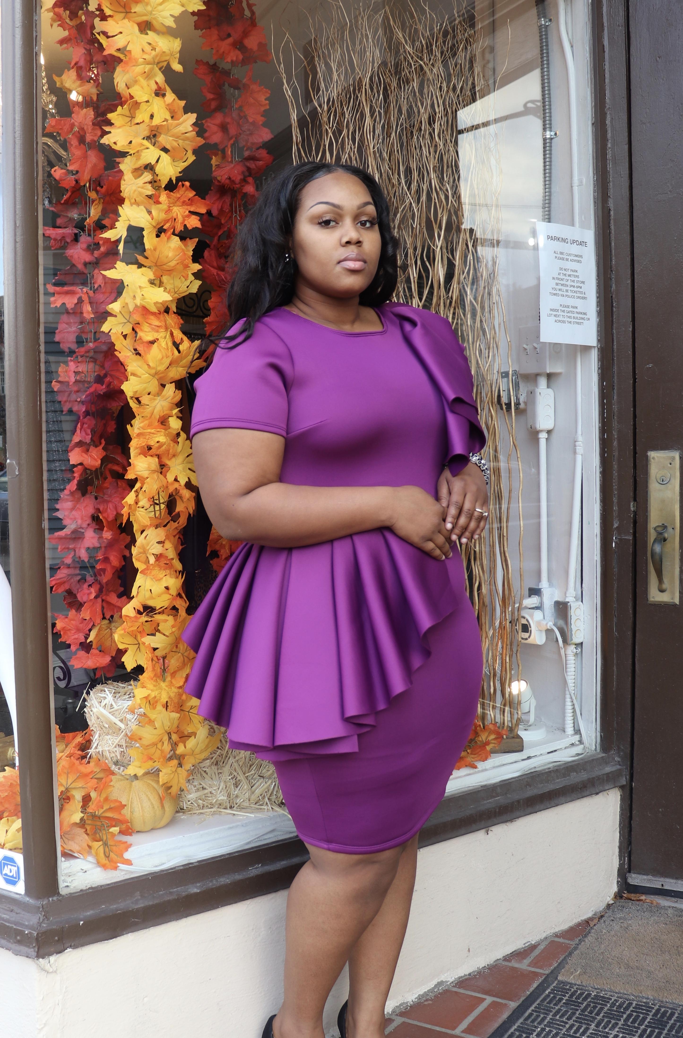 Soraya Peplum Dress
