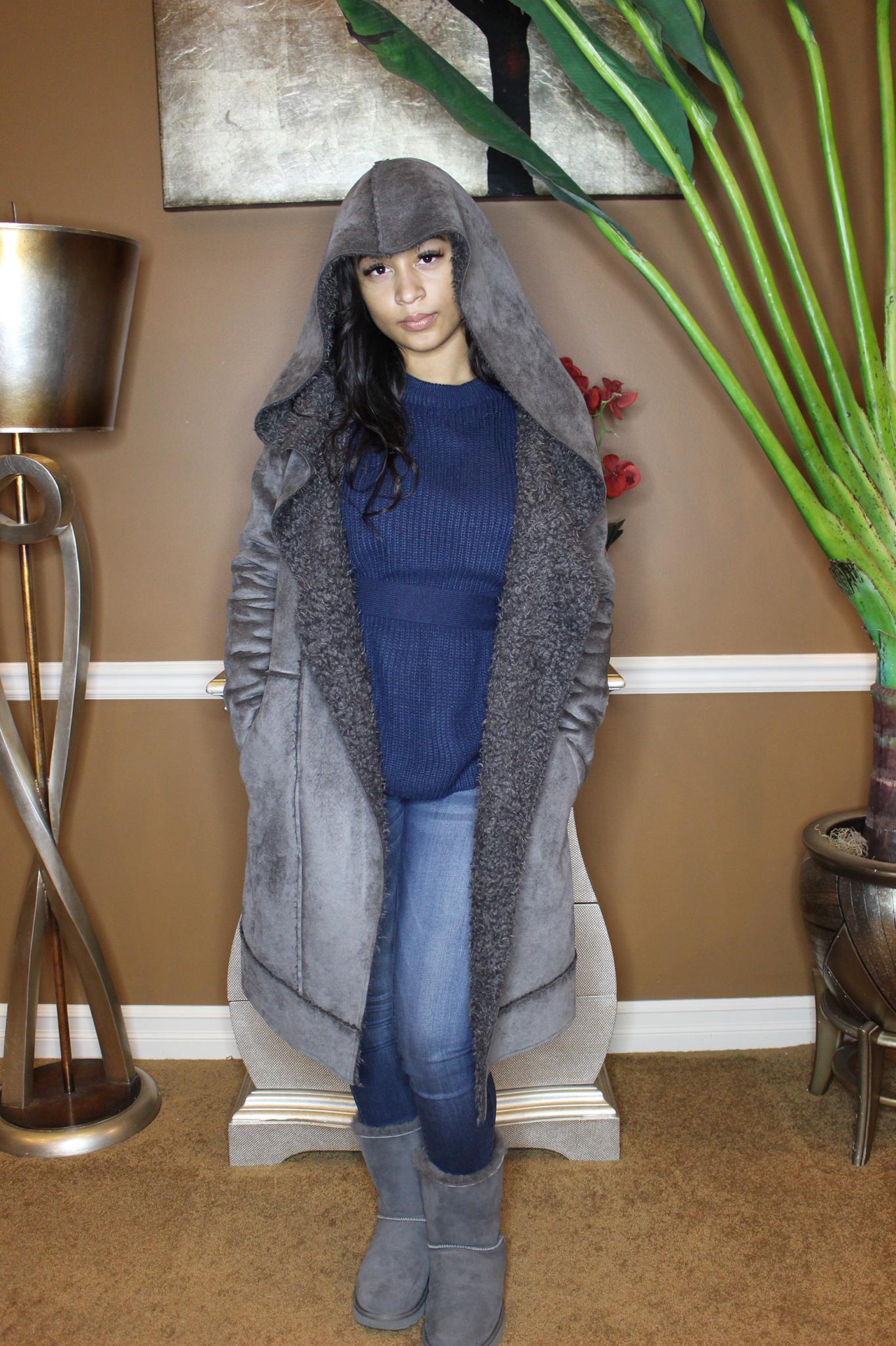 St. Cloud Faux Fur Lined Coat