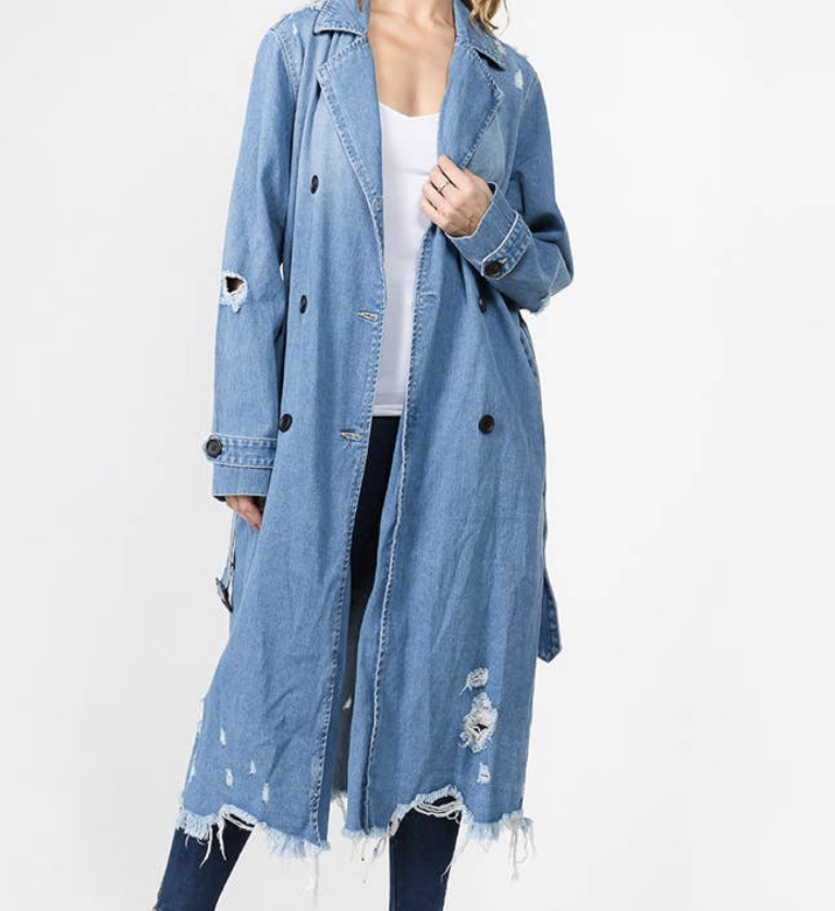 In The Trenches Denim Jacket