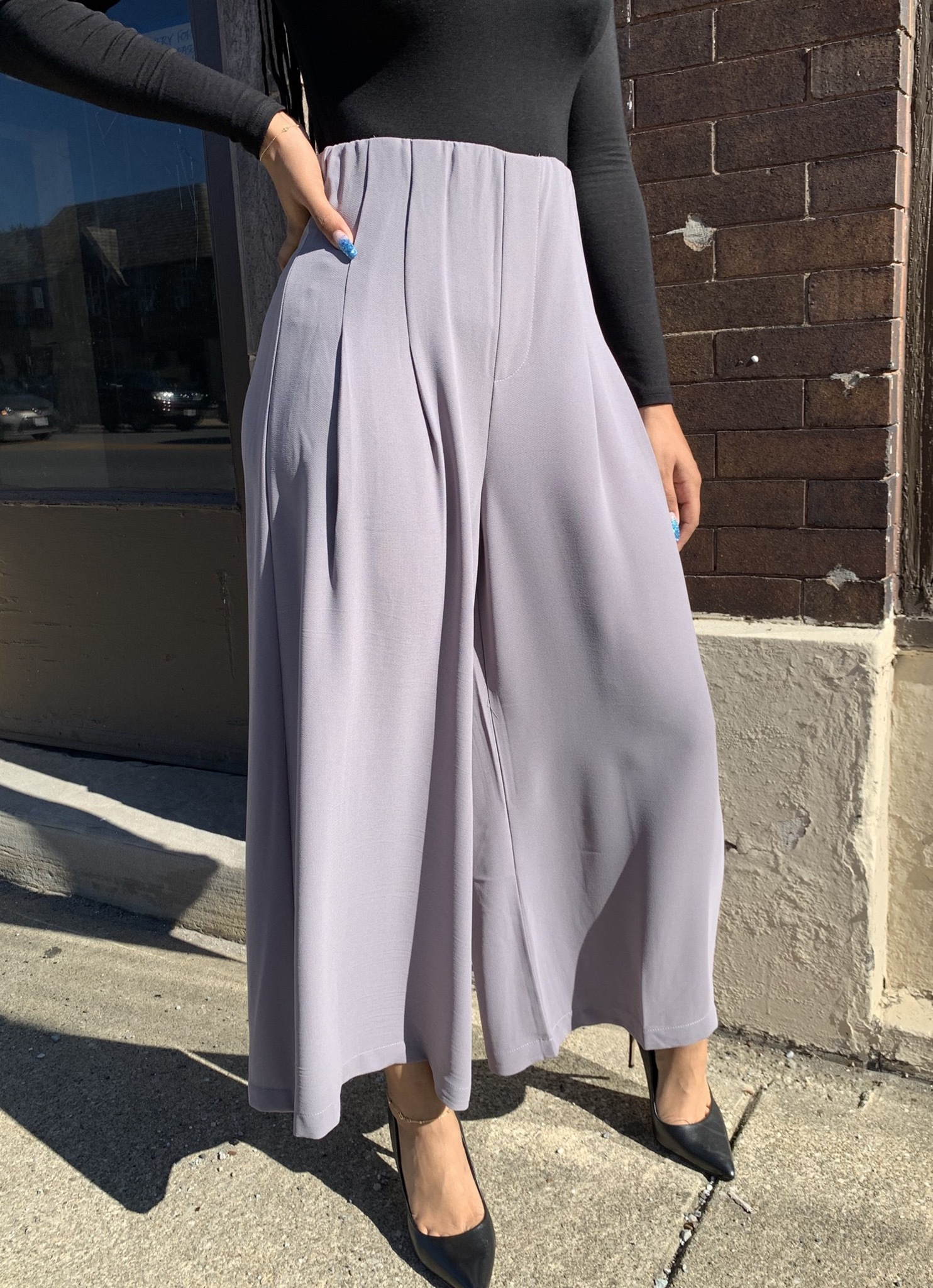 Lazy Susan Cropped Wide Leg