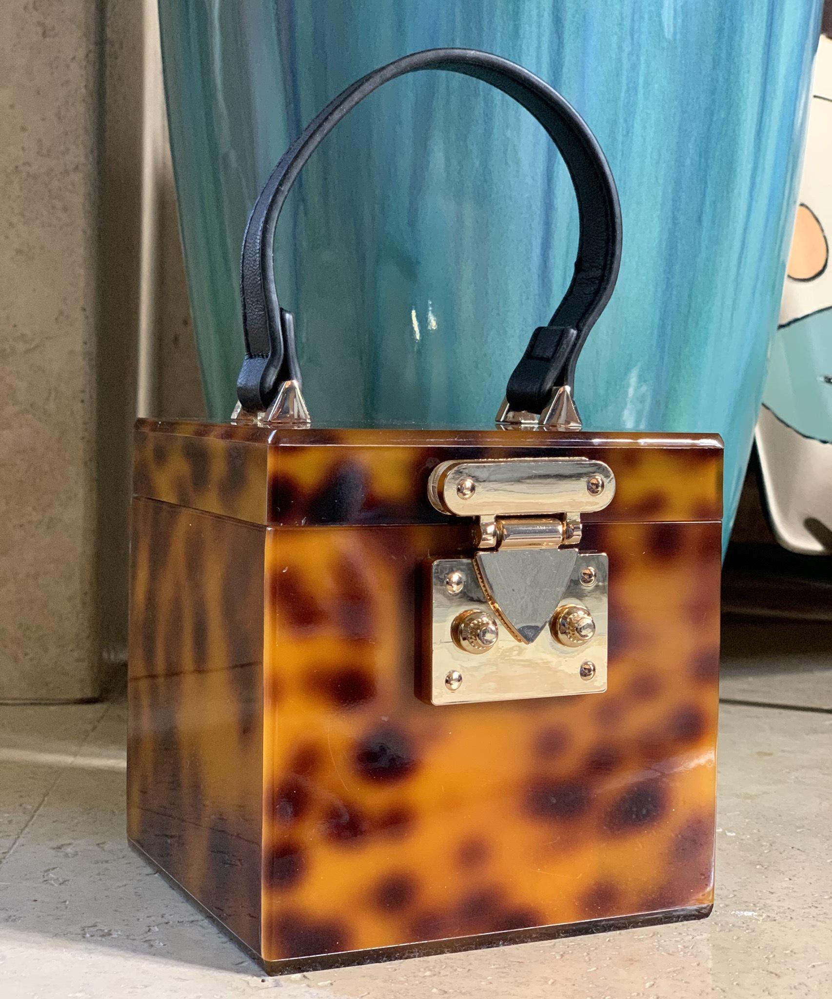 All Boxed Up Satchel Handbag UPHB0001-ALLBOXEDUP