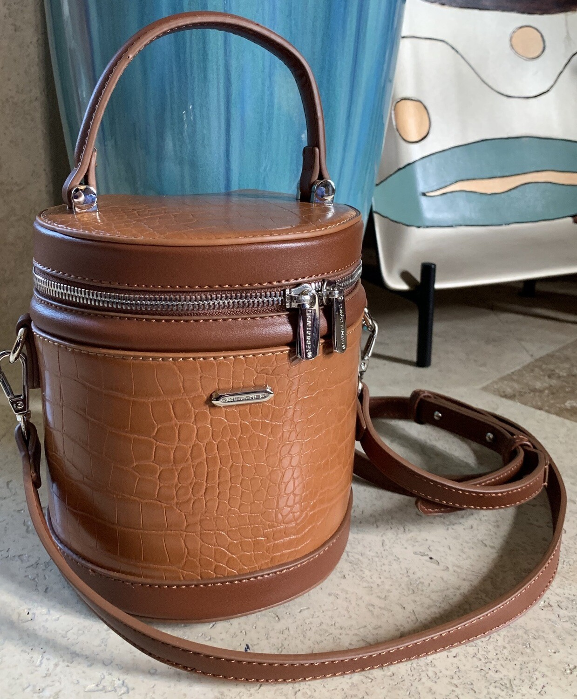 Coco Cylinder Crossbody Handbag