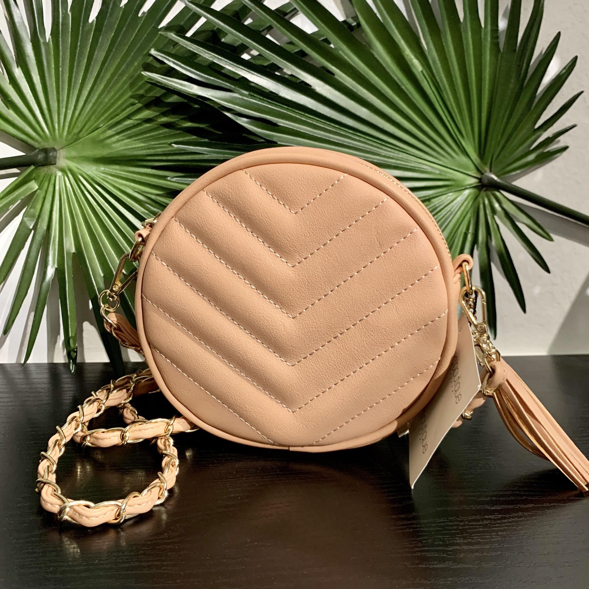 Blush Crossbody Handbag UPHB0001-BLUSH