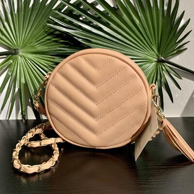 Blush Crossbody Handbag