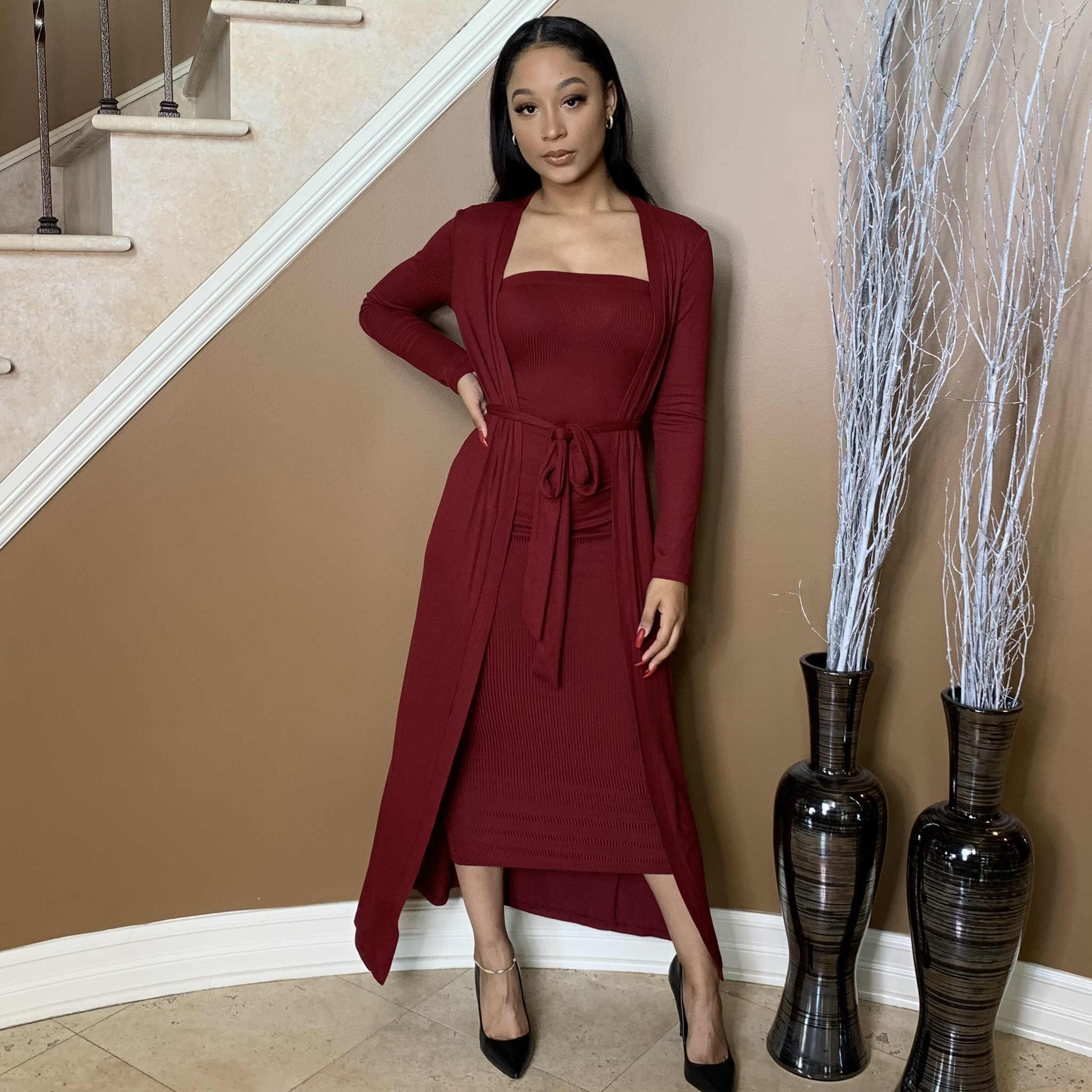 Ruby Dee Two Piece Dress Set