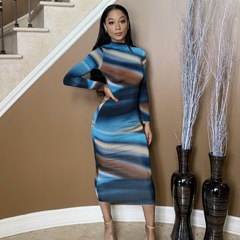 Seashore Midi Dress