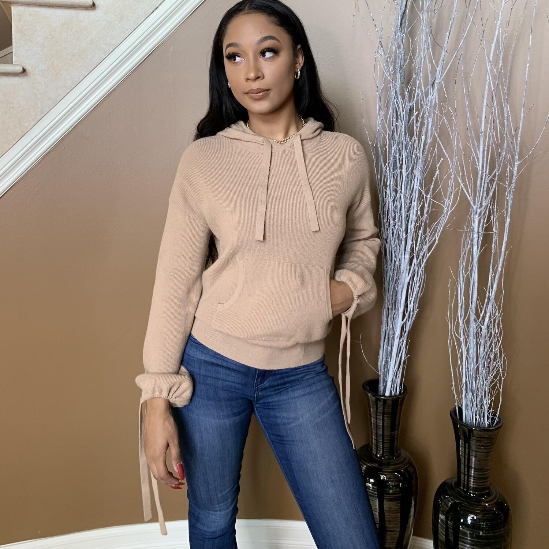 Vanilla Latte Hooded Sweater