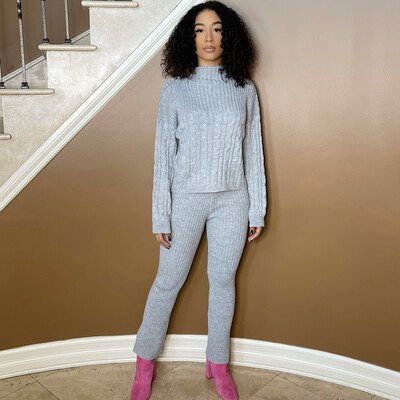 Knit It Two Piece Sweater Set
