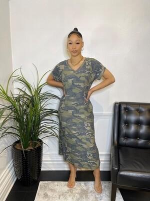 T Style Long T-Shirt Dress