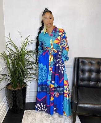 Blue Lagoon Maxi Dress