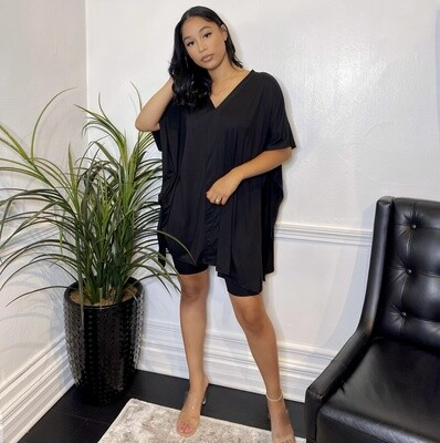 Luxe Leisure Two Piece Set-Black