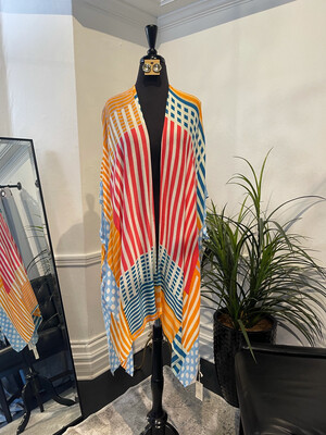 Candy Stripes Coverall-Yellow