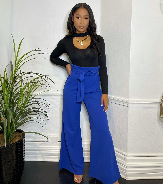 Walk On By Pants-Royal Blue