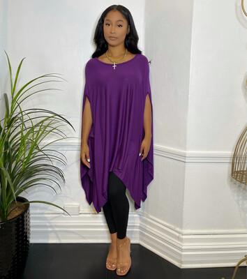 In The Flow Top-Purple