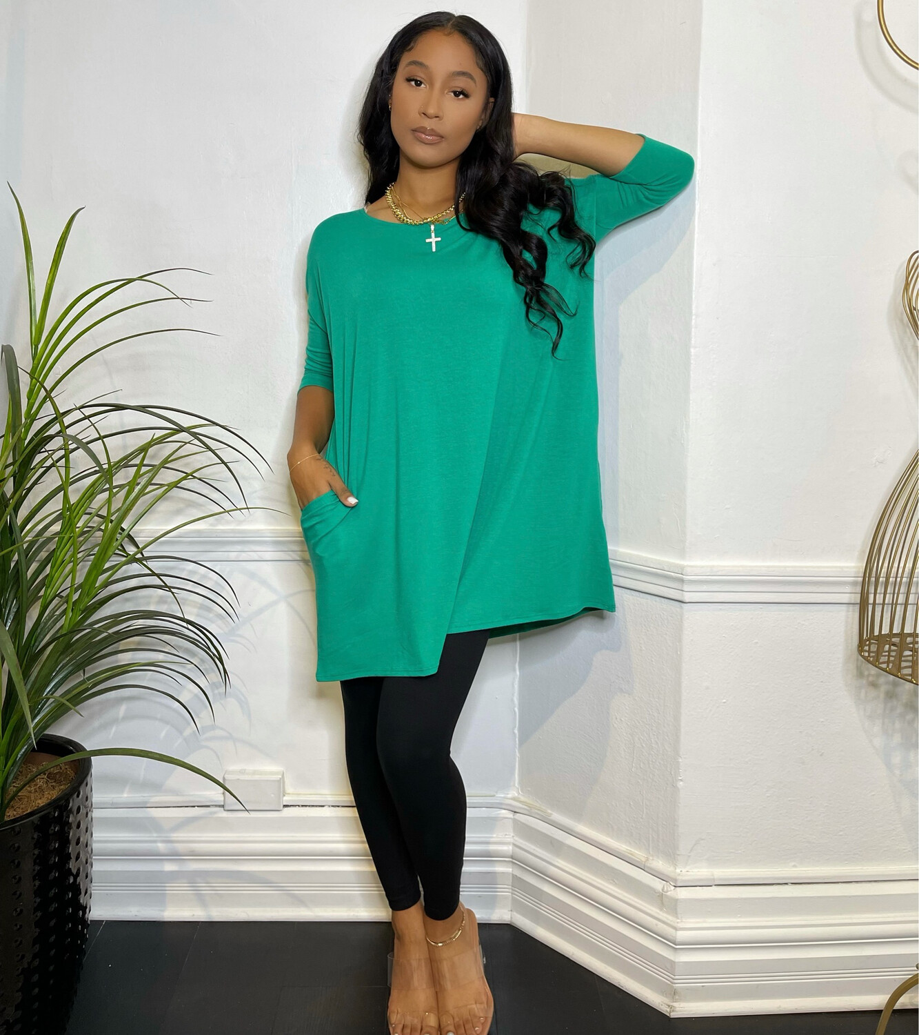 Overly Done Oversized Top