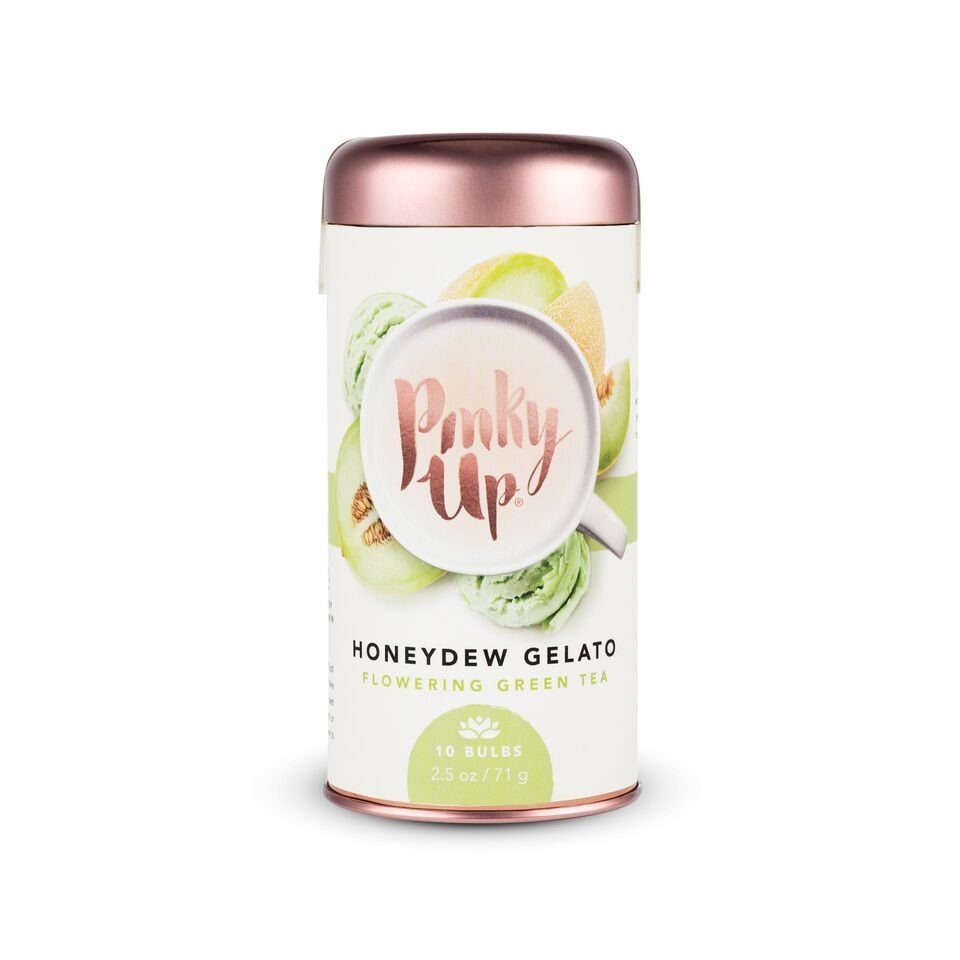 Pinky Up Honeydew Gelato Flowering Green Tea Bulbs