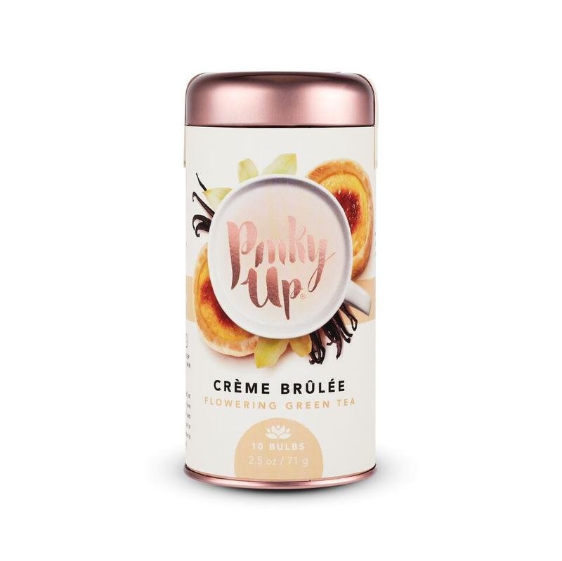 Pinky Up Creme Brûlée Flowering Green Tea Bulbs