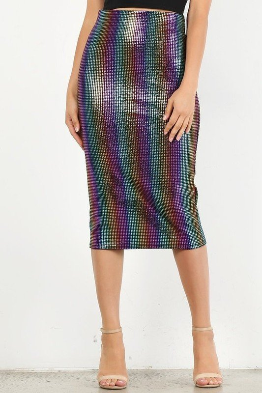 Let's Dance Pencil Skirt UPSK659-LETSDANCE