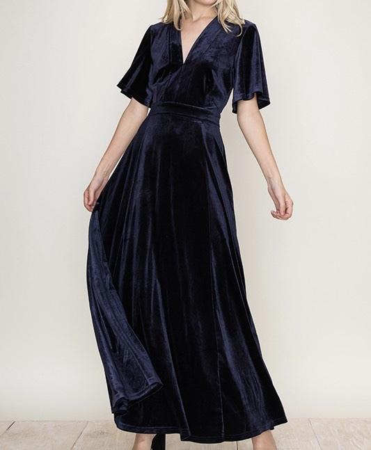 Midnight Dreams Maxi Dress