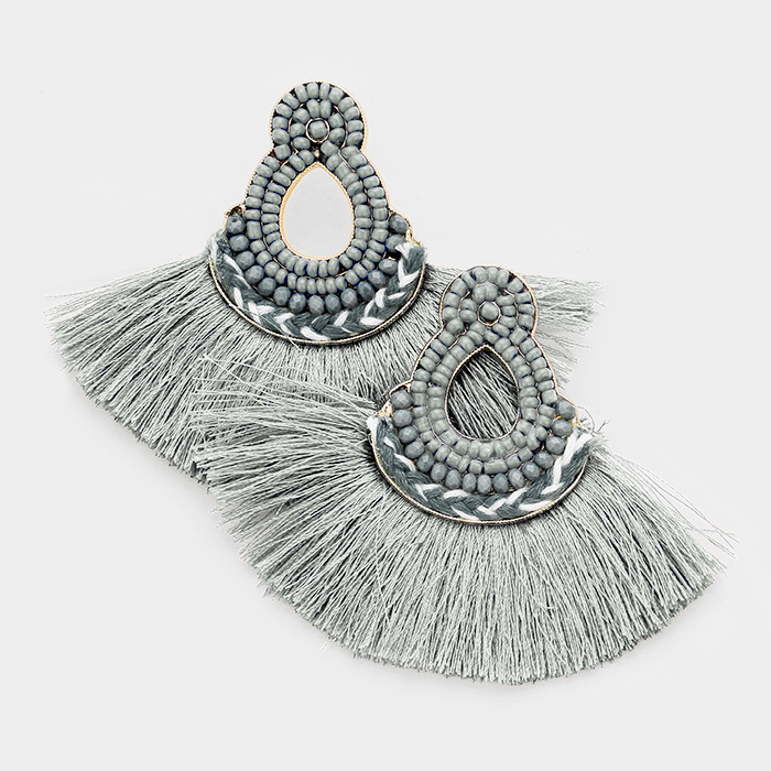 Mira Mira Tassel Earrings UPJL0001-MIRAMIRA