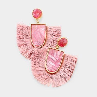 Kamari Tassel Earrings