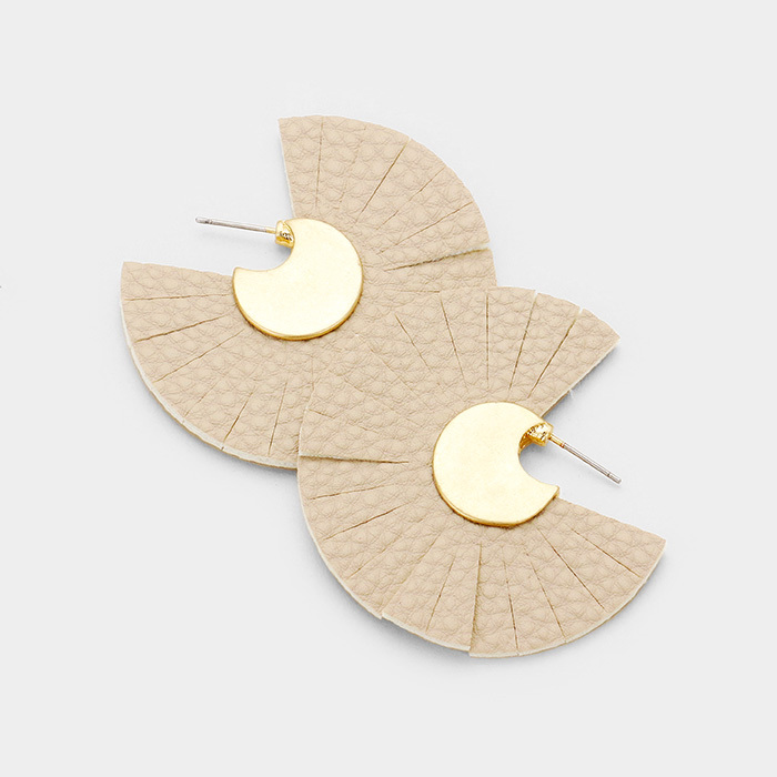 Cairo Leather Earrings UPJL0001-CAIRO