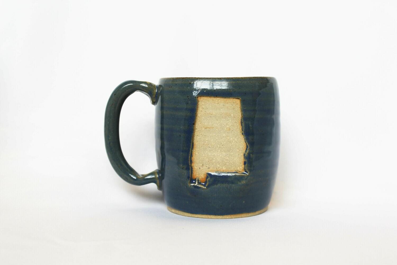 Nelson Studio Pottery Alabama Mug