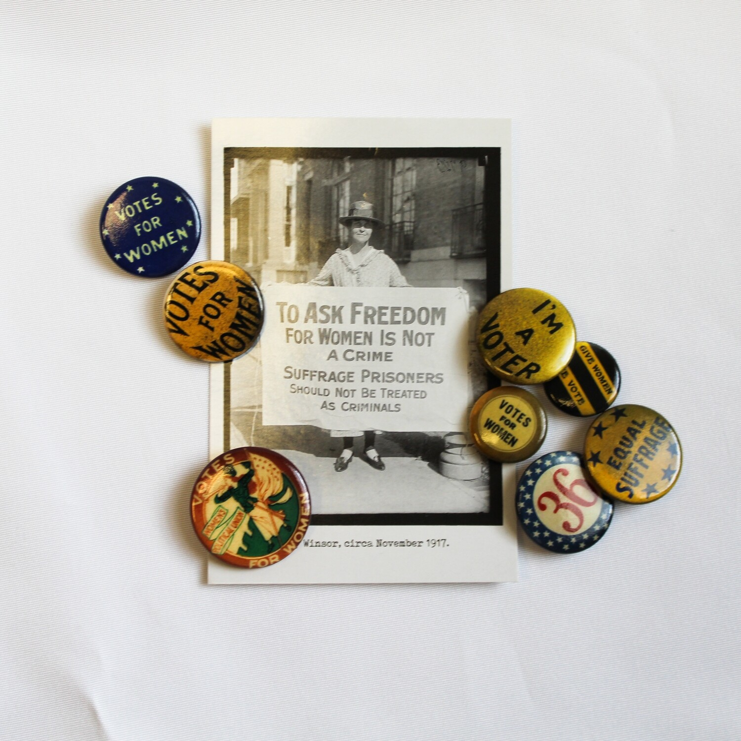 Suffrage Button Pack