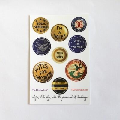 Suffrage Sticker Pack